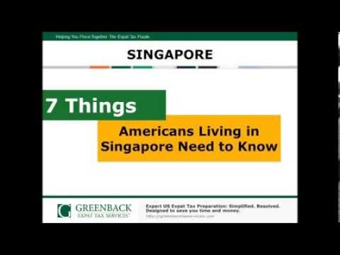 7 Things You Need to Know About Taxes as an American Living in Singapore