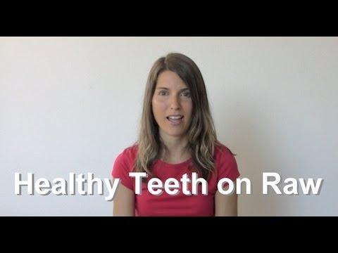 Healthy Teeth & Gums On A Raw Food Diet
