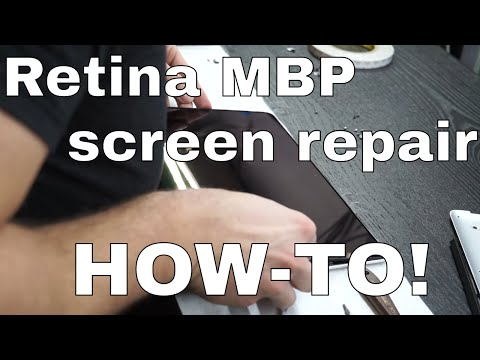 Macbook Pro Retina screen repair - LCD ONLY for A1502 models.