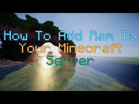 How to add Ram to your Minecraft Server