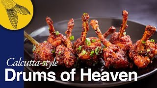 Download Chicken Lollipop—Drums of Heaven—includes cutting steps—Calcutta Indo-Chinese Video