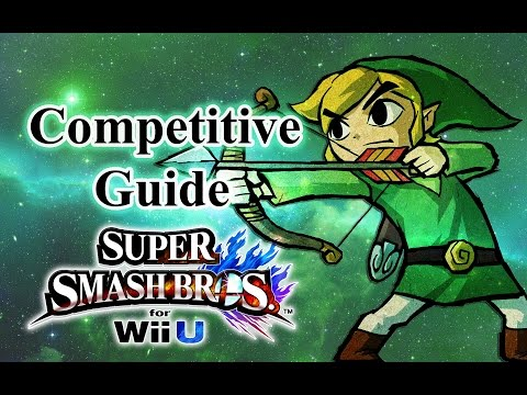 Super Smash Bros. for Wii U - Toon Link Competitive Tutorial