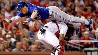 MLB Jumping Over The Catcher