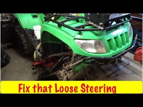 DIY ATV Steering Linkage Replacement