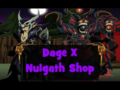 AQW- Dage X Nulgath's Shop! (Dark legion vampire!)