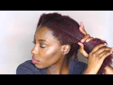 How I keep my natural hair moisturized for DAYS!!   Type 4 hair