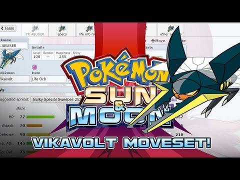 Vikavolt Moveset Guide! How to use Vikavolt! Pokemon Sun and Moon! w/ PokeaimMD!