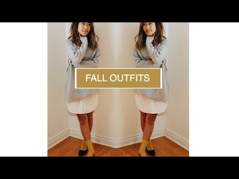 SIMPLE FALL LOOKS (Easy, Casual) | petitejuls