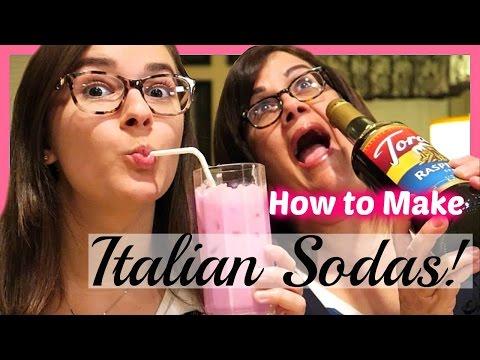 HOW TO MAKE ITALIAN SODAS!