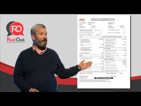 Tax Essentials 1 - Introduction to the P60