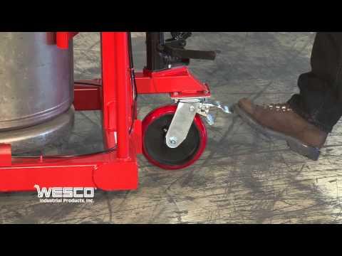Wesco Liquid Cylinder Lifter with handbrake