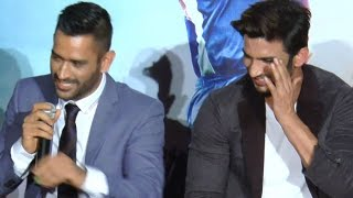 When M.S Dhoni got pissed with Sushant Singh Rajput | VIDEO
