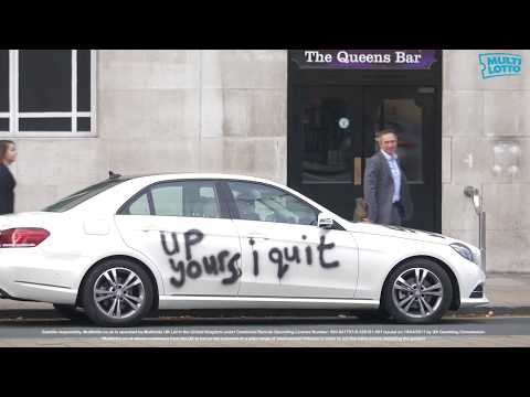 Best Resignation Letter ever - 'up yours I quit' graffiti car riddle solved