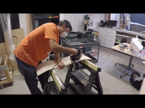Shaping a Skateboard Deck