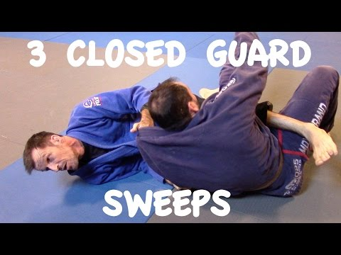 Closed Guard Sweeps: Scissor, Xande and Flower Sweep with Professor Matthias Meister