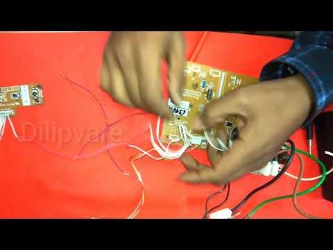 New fan motor setting AC pcb,H6,F6,E6 error code