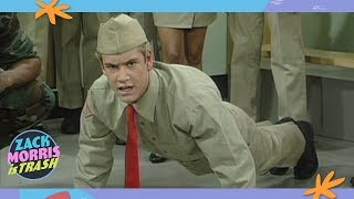 The Time Zack Morris Tricked His Friends Into Joining The Army Then Abandoned Them