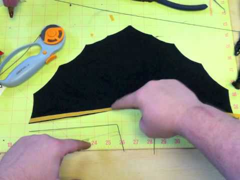 Dark Knight | Movie Masters Custom Cape Action Figure Tutorial
