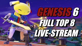 Genesis 6 Smash Ultimate Full Top 8 Live Stream Ft. Zackray, MKLeo, VoiD, and More!