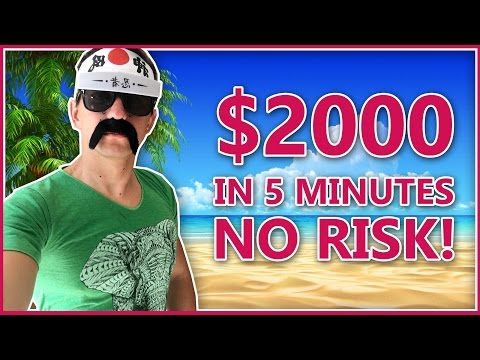 How to Make Money Online with Binary Trading - $2000 in 5 minutes [Binary Strategy 2017]
