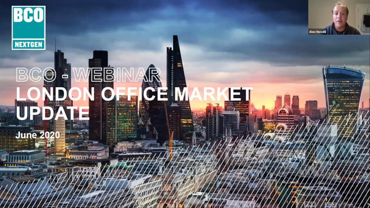 BCO NextGen Webinar: Central London Offices Q1 2020 Market Update