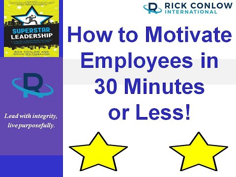 How to Motivate Your Team in 30 Minutes or Less