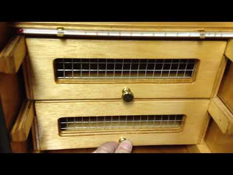 Wood Cabinet Incubator/Hatcher