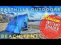 ✔️Easthills Outdoors Instant Shader Enhanced Pop Up Beach Tent - Review