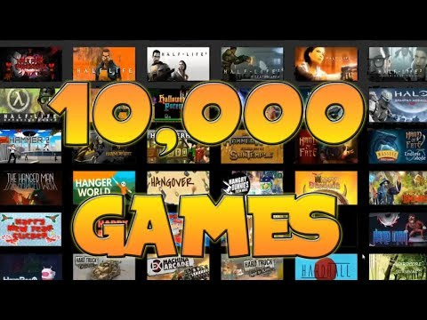 10000 Games on Steam || Master Gatherer