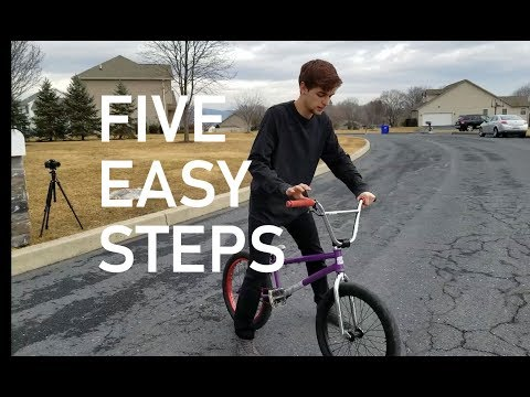 How to 180 BMX in 180 SECONDS!