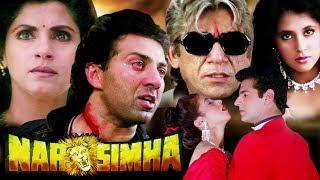 Download Narsimha Full Movie in HD | Sunny Deol Hindi Action Movie | Dimple Kapadia | Urmila Matondkar Video