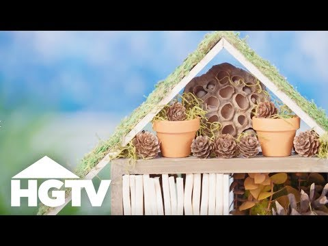 How to Make a Beneficial Bug Hotel - Way to Grow - HGTV