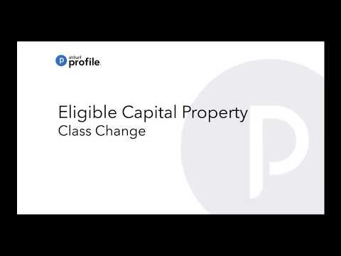 ProFile: The CRA change to Class 14.1 for Eligible Capital Property