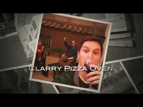 The Clarry Wood Fired Outdoor Brick Pizza Oven