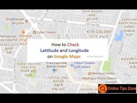 How to check Latitude and Longitude