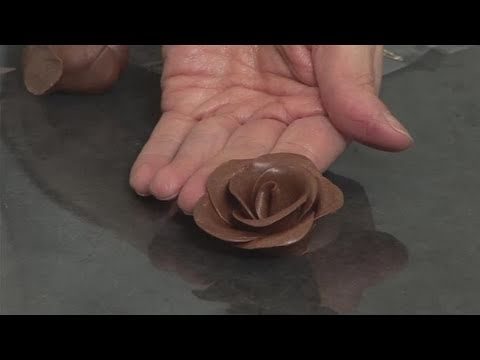 How To Make A Chocolate Rose