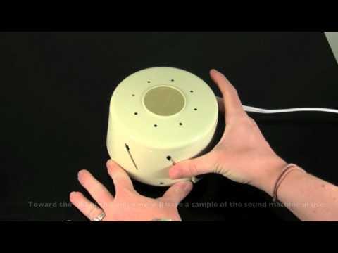 White noise single speed sound machine 580a