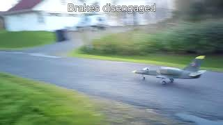 EL-39 brake prototype test