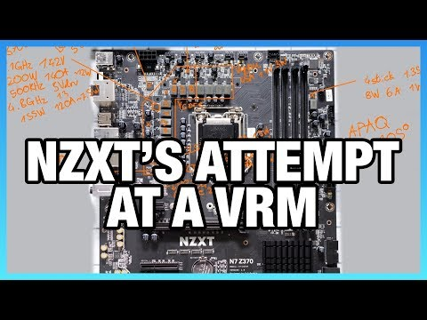 NZXT N7 Motherboard VRM Review & OC Potential