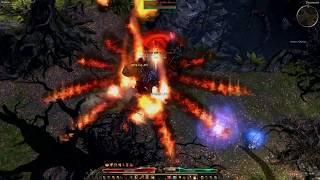 Grim Dawn AoM 1 0 4 0 - 2H Ranged Firestrike Ulzuin Sorcerer