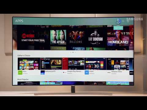 Samsung 2017 Televisions - Smart Hub - Deleting Apps (Q8C)