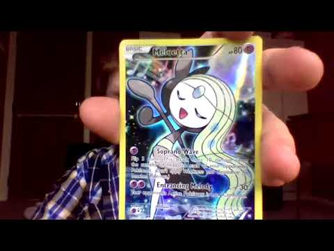 opening a December 2016 meloetta collection box