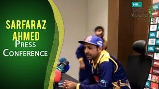 PSL 2017 Match 19: Sarfaraz Ahmed Press Conference