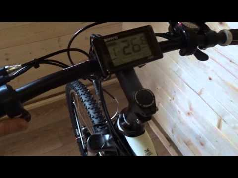 E Bike - Cube City installed with Bafang 250w Mid Drive eBike Conversion Kit