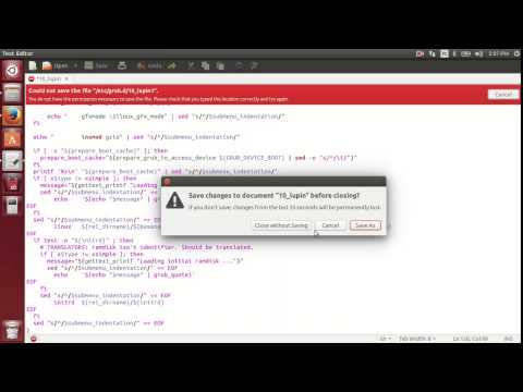 Ubuntu 14.04 Wubi - Fixing Serious errors Found error (GRUB boot bug)