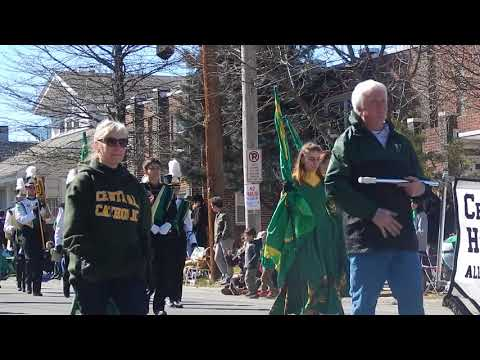 Allentown St. Patrick's Day Parade (Central Catholic High School Band) - March 18, 2018