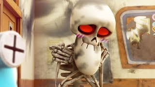 Funny Animated Cartoon   Spookiz   Skeleton Exposed   스푸키즈   Cartoon for Children