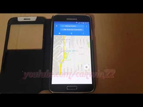 Google Maps : How to search Route in Android