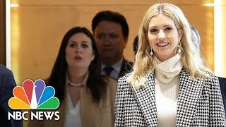 Ivanka Trump Arrives In South Korea To Attend Winter Olympics Closing Ceremony | NBC News