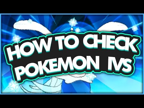 How to Check Pokémon IVs in Pokémon Sun & Moon! - hi im twit